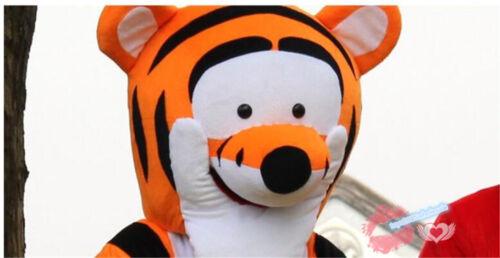 2019 Hot Adult Winnie The Pooh Bear /& Tigger Mascot Costume Cartoon Fancy Dress