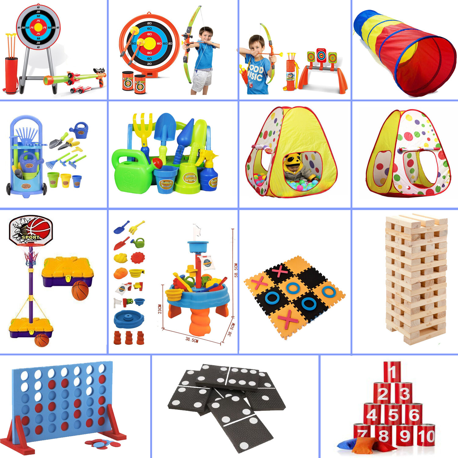 Large Outdoor Giant Garden Games Kids Adults Family Sports