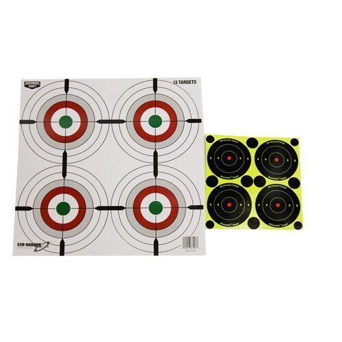 Birchwood Casey Ez Scorer 12 Multi Bullseye 13 Pack