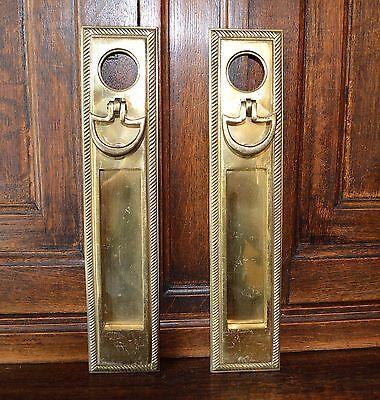 One Antique Brass knob
