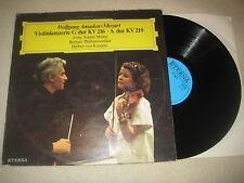 Mozart - Violinkonzerte Anne-Sophie Mutter, Karajan  Vinyl  LP Eterna