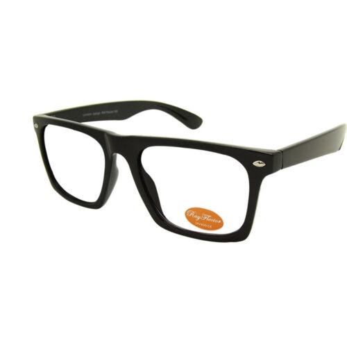 Square Eckig Retro Brille Hornbrille Klarglas  RAY3450