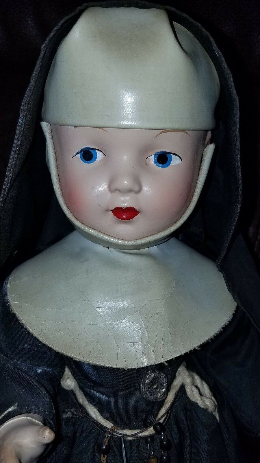 Muñeca Antigua Composición 16  monja