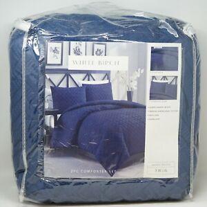 Grey King White Birch Willow Branch II 8 Piece Comforter Set