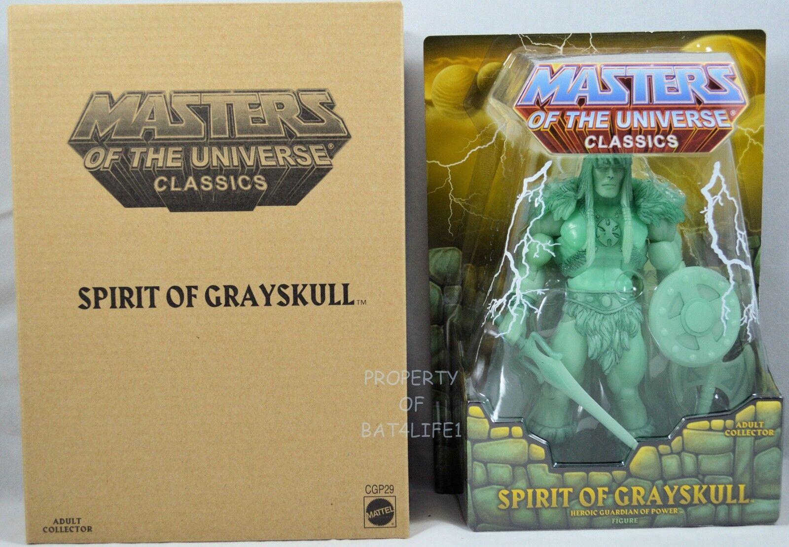 Masters of the Universe Classics SPIRIT OF grauSKULL    MOC   NEW