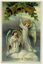 LES ANGES DE NOEL. ANGELOT. ANGEL.  CLOCHE. BELL.