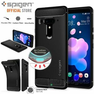 outlet store 8b0b9 5aebe Details about [FREE EXPRESS] HTC U12 Plus Case, Spigen Rugged Armor  Resilient Cover for HTC