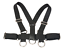 Hot-Nylon-Restraint-Open-Leg-Thigh-Locking-Wrist-Cuffs-Belt-Fetish-Harness-Set thumbnail 10