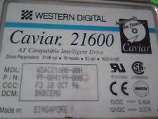Hard Disk Drive IDE Western Digital Caviar 21600 99-004199-000 WDAC21600-00H