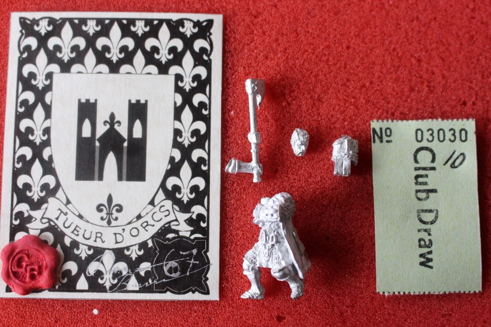 GrimForge Miniatures Mountain Duke Bretonnian Lord Knight Limited Edition New