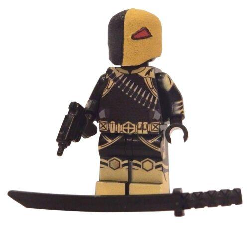 **NEW** LEGO Custom Printed - ARKHAM DEATHSTROKE - DC Universe Minifigure