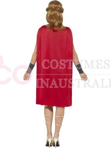 Ladies Greek Xena Roman Warrior Princess Gladiator Medieval Spartan Hero Costume