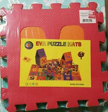 EVA puzzle Mat 6pc Foam 12 in each NEW, Preschool Educational Toys, Daycare Toys