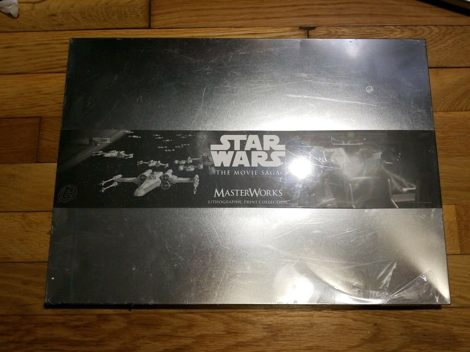 Brand New Star Wars The Movie Saga Master Works Lithographic Print Collection