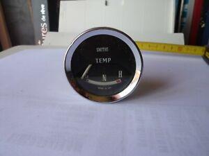 Ancien-Compteur-SMITHS-Jauge-Controleur-temperature-thermometre-Jaguar-Austin