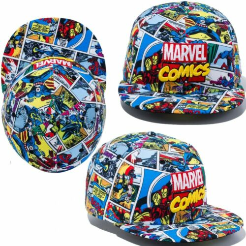 NEW ERA × MARVEL Collaboration 59FIFTY Cap Hat Fitted Allover Print Japan