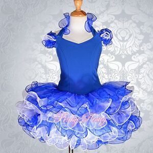 Cupcake-Pageant-Dress-Shell-Party-Dance-Costume-Girl-Size-12m-10y-5-Colors-002