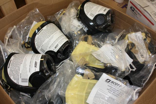 NEW Scott AV3000 Grey Nosecup KevlarHeadNet SCBA Mask Facepiece 805773-72 SzMed
