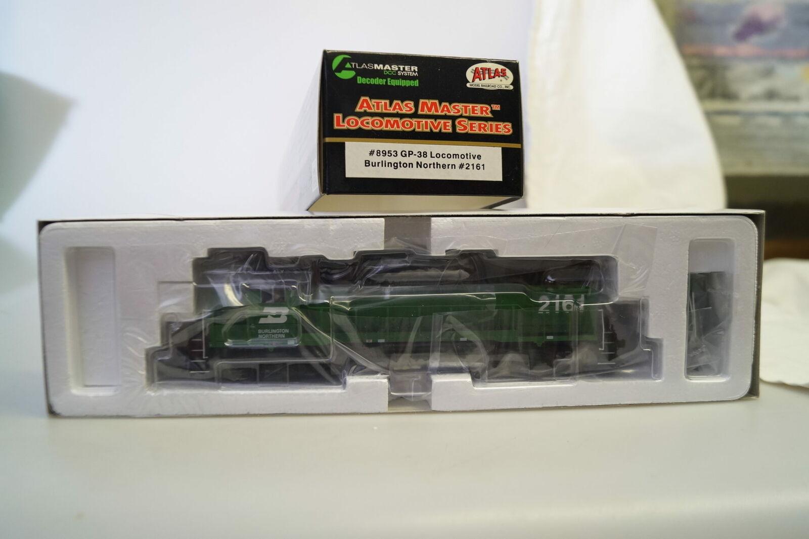 H0 8953 Atlas Master Locomotora Diesel de Ee.uu. GP-38 Bn  2161 Nuevo Embalaje