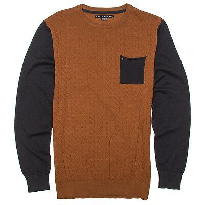 Billabong Distress Crewneck Assorted Pullover Fleece Sweater Knit  Shirt Large
