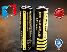VENDRE PAR UNE PILE  BRC 18650  4000 mAh 3.7V BATTERY Li-ion Rechargeable