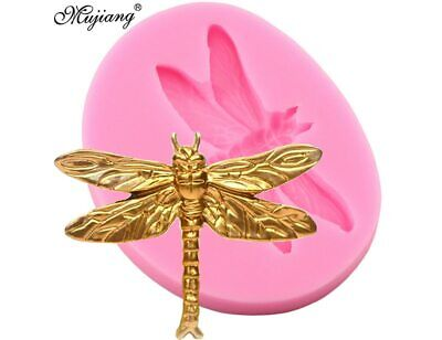Dragonfly Silicone Mold Diy Baking Chocolate Candy Resin Clay