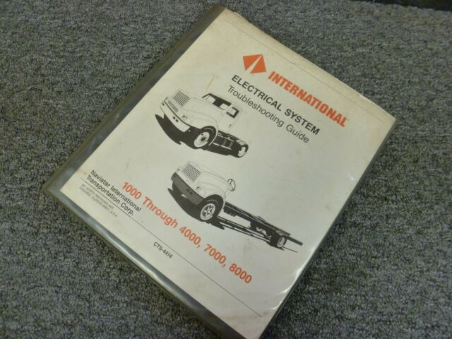 1991 International 8100 8200 8300 8000 Truck Electrical