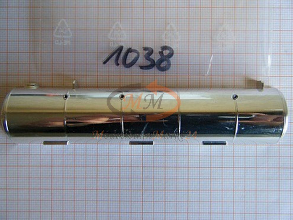 10x 10x 10x ALBEDO Ersatzteil Ladegut Silotank Tankhälfte linke Seite Chrom 1 87 - 1038 160d74
