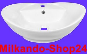 Design-Keramik-Aufsatzwaschbecken-Waschbecken-Waschtisch-Waschschale-Bad-Kr-727