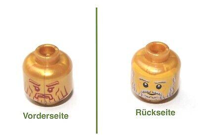 1x LEGO® Kopf zweiseitig Herr der Ringe Geisterkönig 3626cpb0951 NEU Leuchtend