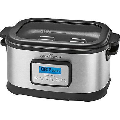 Proficook SV1112 Sous Vide Olla cocción lenta y cocina al vacío baja temperatura