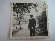 WW II Foto Luftwaffe Soldat mit Borddolch und weißer Schirmmütze