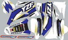 Graphics for 2006-2009 Yamaha YZ250f YZ450f Decal fender shrouds sticker