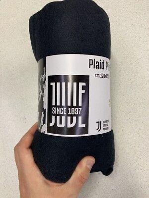 PLAID JUVENTUS FC JUVE UFFICIALE CALCIO MORBIDO PILE COPERTA 160x240 cm