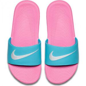 100% authentic b734f e99ae Image is loading Nike-Kawa-Slide-GS-PS-819353-400-Gamma-