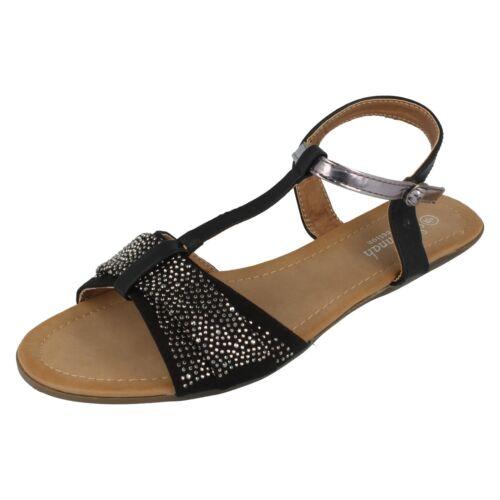 Sale Ladies Savannah T-Bar Sandals F0R772