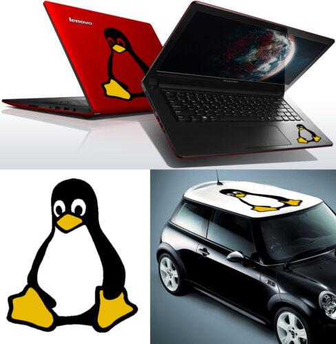 extérieur /> 10 years high Qualité Pingouin LINUX Vinyle Cut Sticker Pingouin