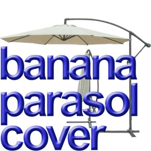 Parasol Housse Banane Cantilever Résistant à L/'Eau Jardin 3 m grande pendaison Proof