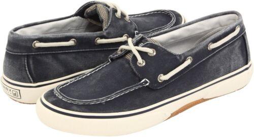 Sperry Halyard 2-Eye Men/'s Canvas Casual Sneaker Boat Shoes 77914