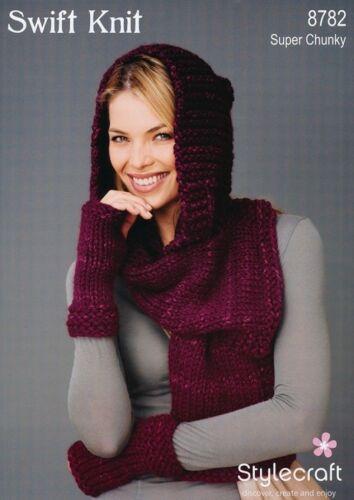 Accessories Stylecraft 8782 Swift Knit Knitting Pattern
