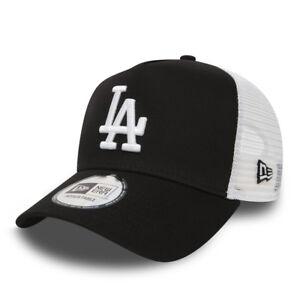 5c0b6c2d97e4c NEW ERA MEN BASEBALL CAP.MLB LA DODGERS BLACK CLEAN A FRAME MESH ...