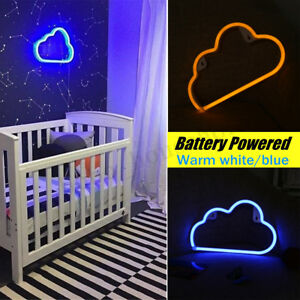 LED-Neon-Sign-Night-Light-Cloud-Wall-Lamp-Home-Kids-Bedroom-Baby-Room