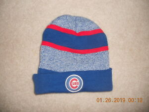 7af1ac7a81c Chicago Cubs MLB Baseball Winter Hat Cap Beanie Skully Jim Beam Cool ...