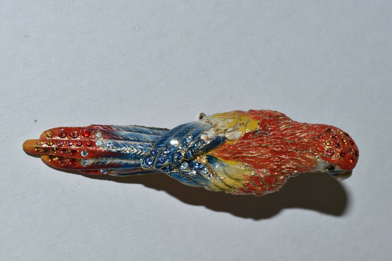 Neuf Jay Strongwater Pablo Perroquet Mini Figurine Figurine Figurine Swarovski Cristaux | Fiable Réputation  | Choix Des Matériaux  | La Qualité Et La Quantité Assurée  7fe0dc