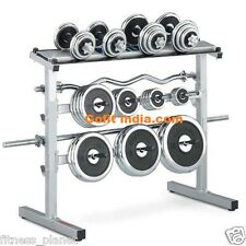 Gofit New Weight Lifting Plates & Rod Rack Capacity Of 500 Kgs (30906)