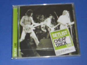 Cheap-Trick-Setlist-The-very-best-of-Cheap-Trick-live-CD-SIGILLATO