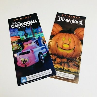 DCA California Adventure Xmas 2016 Park Maps Final Tower Of Terror. Disneyland