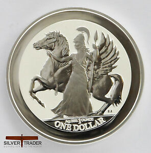 The 2017 Virgin Islands Pegasus 1 Ounce Silver Bullion
