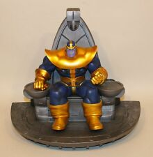 2011 Marvel Bowen Designs 15-1/2 Inch Thanos Space Throne Painted Statue 461/600