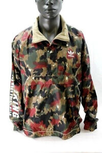 Adidas Pharrell Williams Hiking Camo Windbreaker HZ Pullover